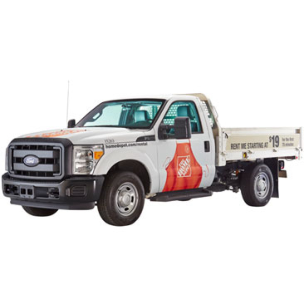 Moving Truck Rental F250 Flatbed Truck Rental - The Home Depot