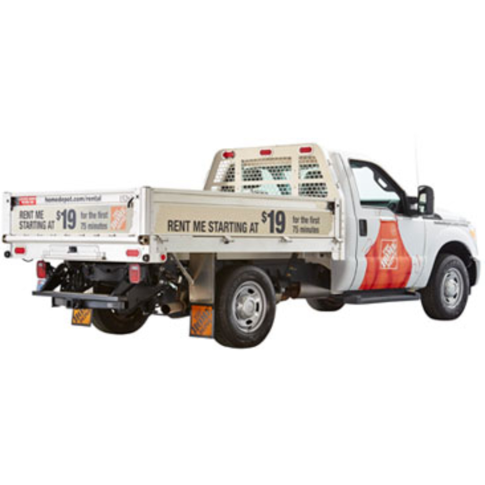 Moving Truck Rental F250 Flatbed Truck Rental The Home Depot