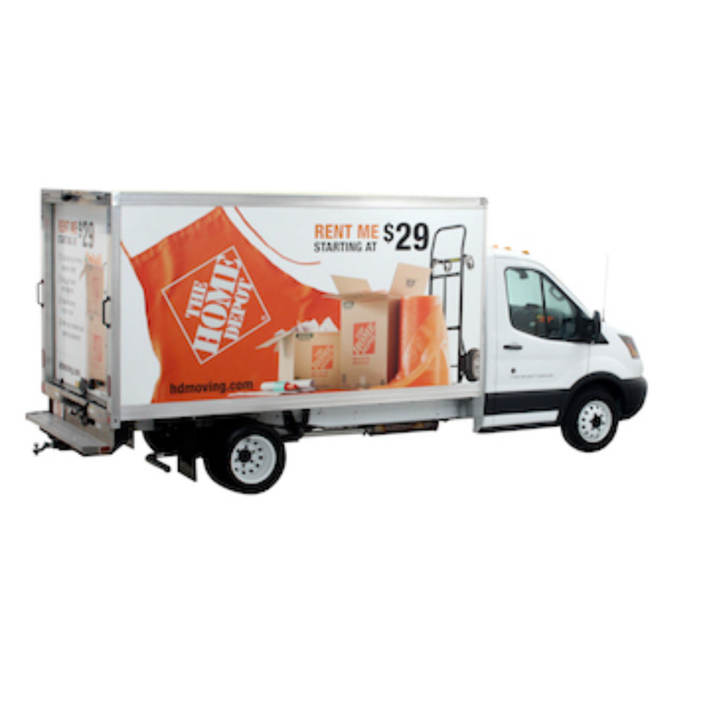 Moving Truck Rental Moving Box Truck Rental The Home Depot