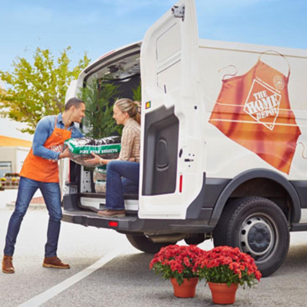 Moving Truck Rental Cargo Van Rental The Home Depot