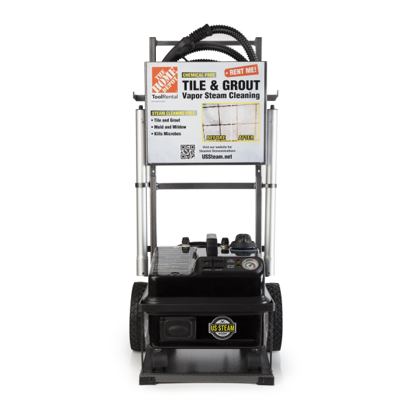 Eurosteam Tile And Grout Steam Cleaner Rental 13070 The Home Depot