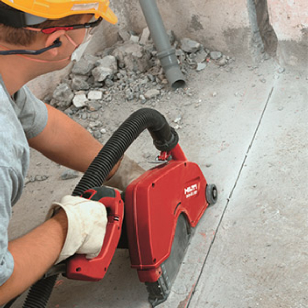 Hilti Inc Pro Electric Concrete Saw 12 Rental 3512434 The Home Depot