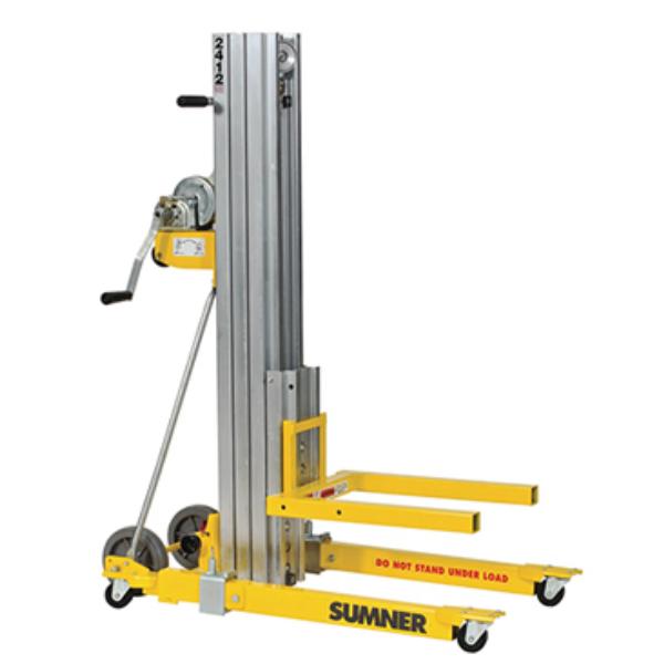 Sumner Mfgr Co 450lb Material Lift 12 Rental 2412 The Home Depot