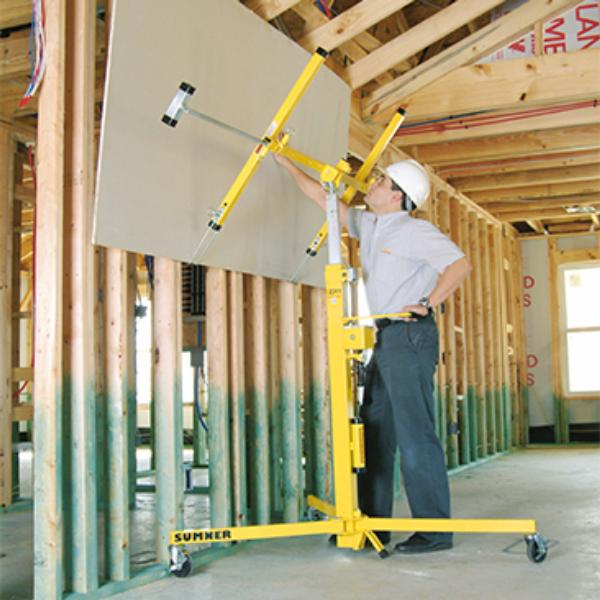 Sumner Mfgr Co Drywall Lift 11 Rental 2311 The Home Depot